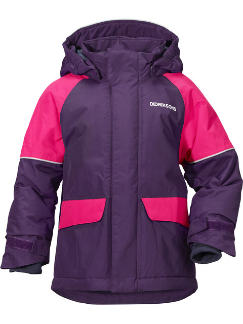 Didriksons 1913 Kids Ese Jacket Berry Purple